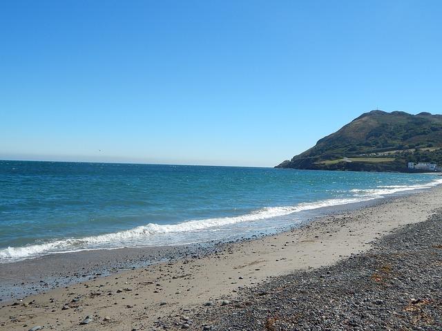 Sammy and Kevin's beach in Ireland