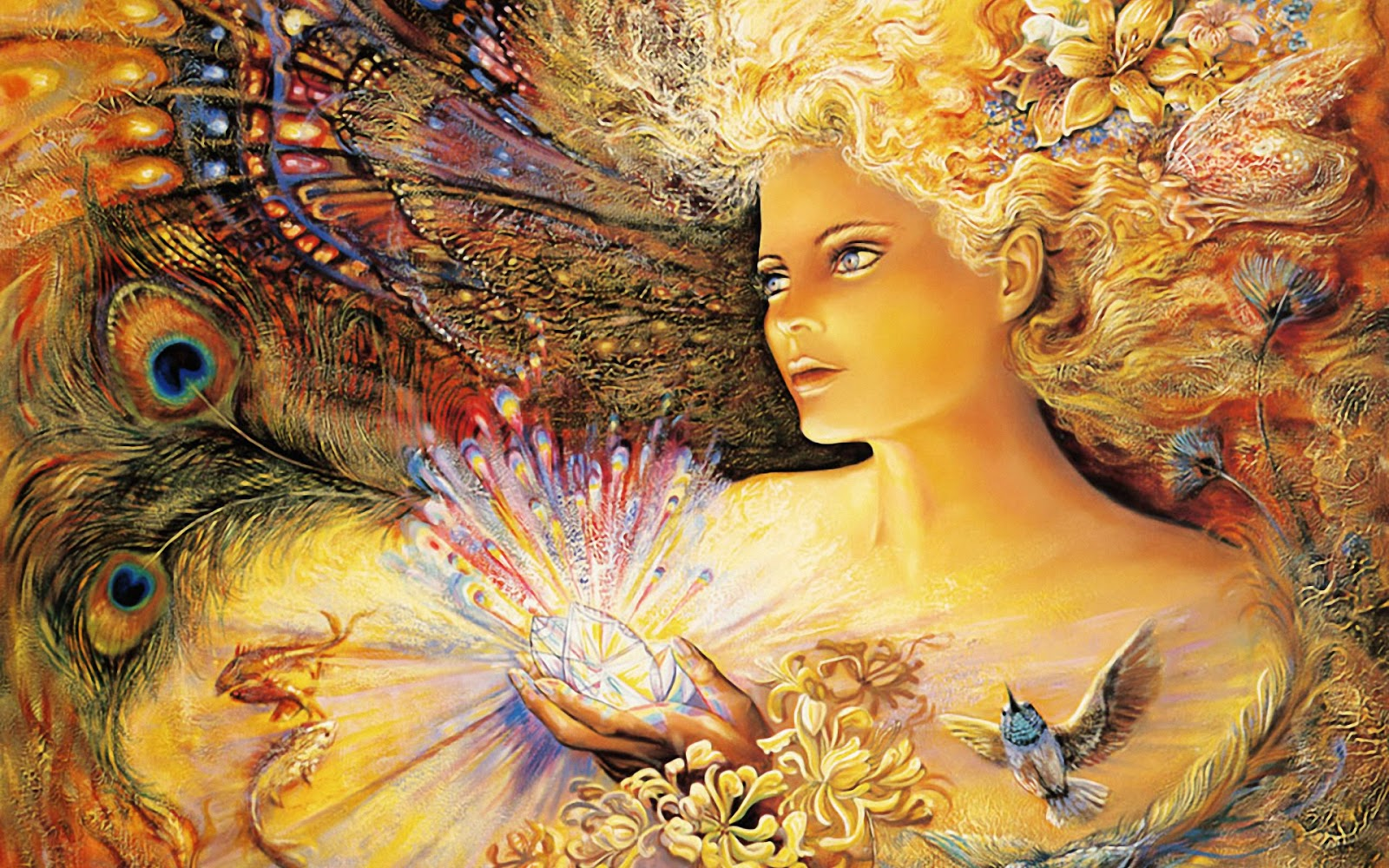 The Fairy in the Meadow - www.creativeexiles.com